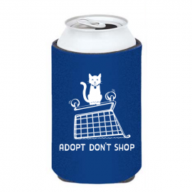 Adopt Don't Shop Cat Koozie