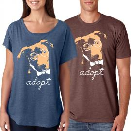 PIttie Glasses TShirt